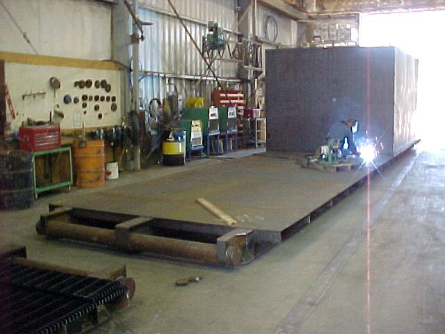 Steel Fabrication  - Drilling